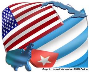 Cuba-US-relations-flags