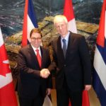 Cuba's Foreign Minister on Official Visit to Canada