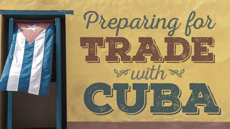 cuba trade, trade with Cuba