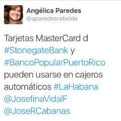tweet-cuba-accepting-mastercard-debit-cards