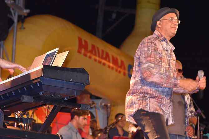 Isaac Delgado in concert