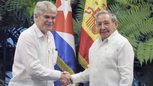 spain-official-visit-to-Cuba