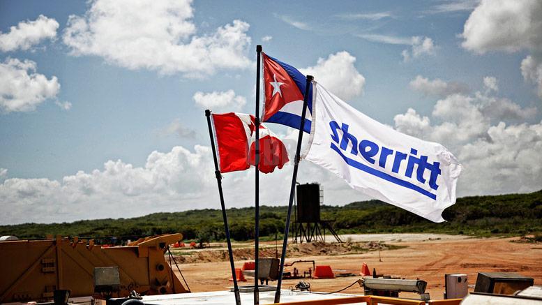 Sherritt, Cuba oil, mining