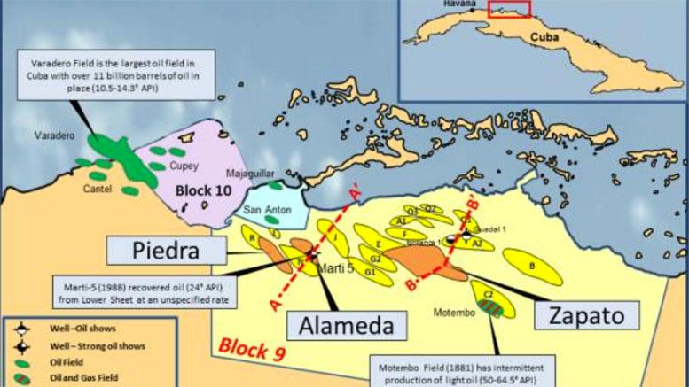 Melbana, oil in Cuba