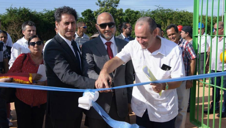 IRENA-in-Cuba-opening-solar-farm